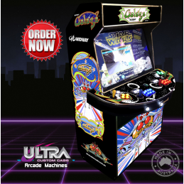 Galaga 4 Player Arcade Machine