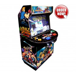 Double Dragon 4 Player Boss...