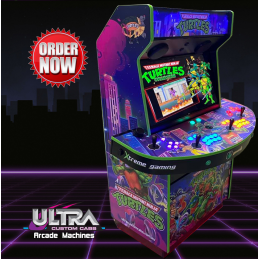TMNT 4 Player Arcade Machine