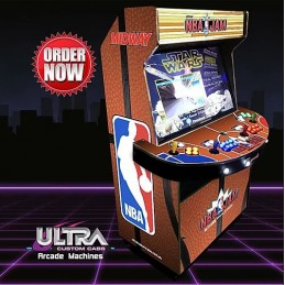 NBA Jam 4 Player Boss Machine